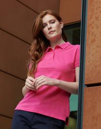 Ladies Microfine-Piqué Polo Shirt